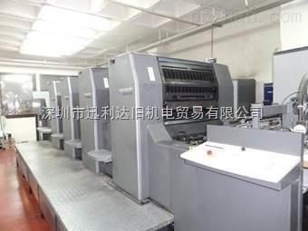 2002年海德堡SM74-4H印刷机