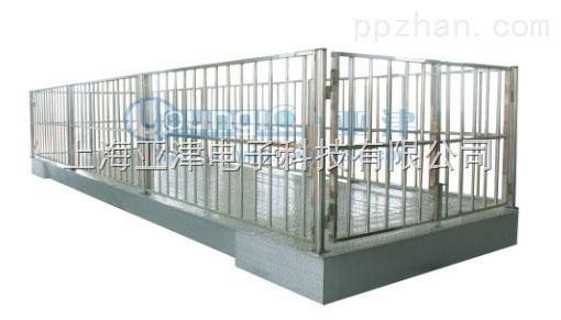 供应上海不锈钢牲畜秤 1吨防爆动物电子磅