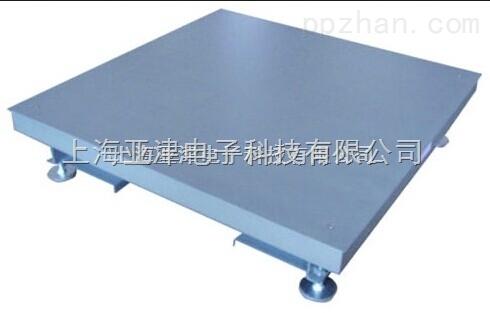 上海磅秤厂家 带打印双层电子地磅秤