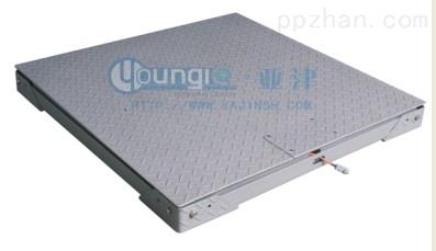 0.5吨超低双层碳钢上海地磅上海磅秤