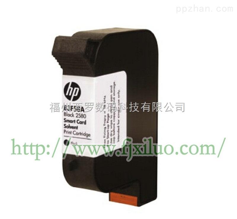 进口惠普HP溶剂墨盒墨水打铝泊塑料PVC卡上光覆膜材料变喷码数字
