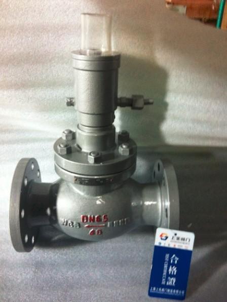 切断阀安装在液氨,燃气储罐站或
